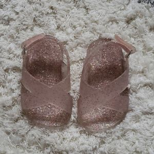 Baby girl jelly shoes